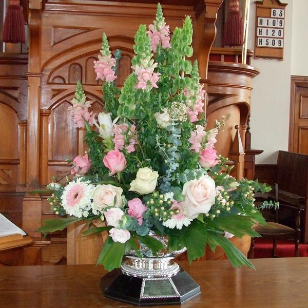Wedding Altar Call: Alcorns Garden Centre