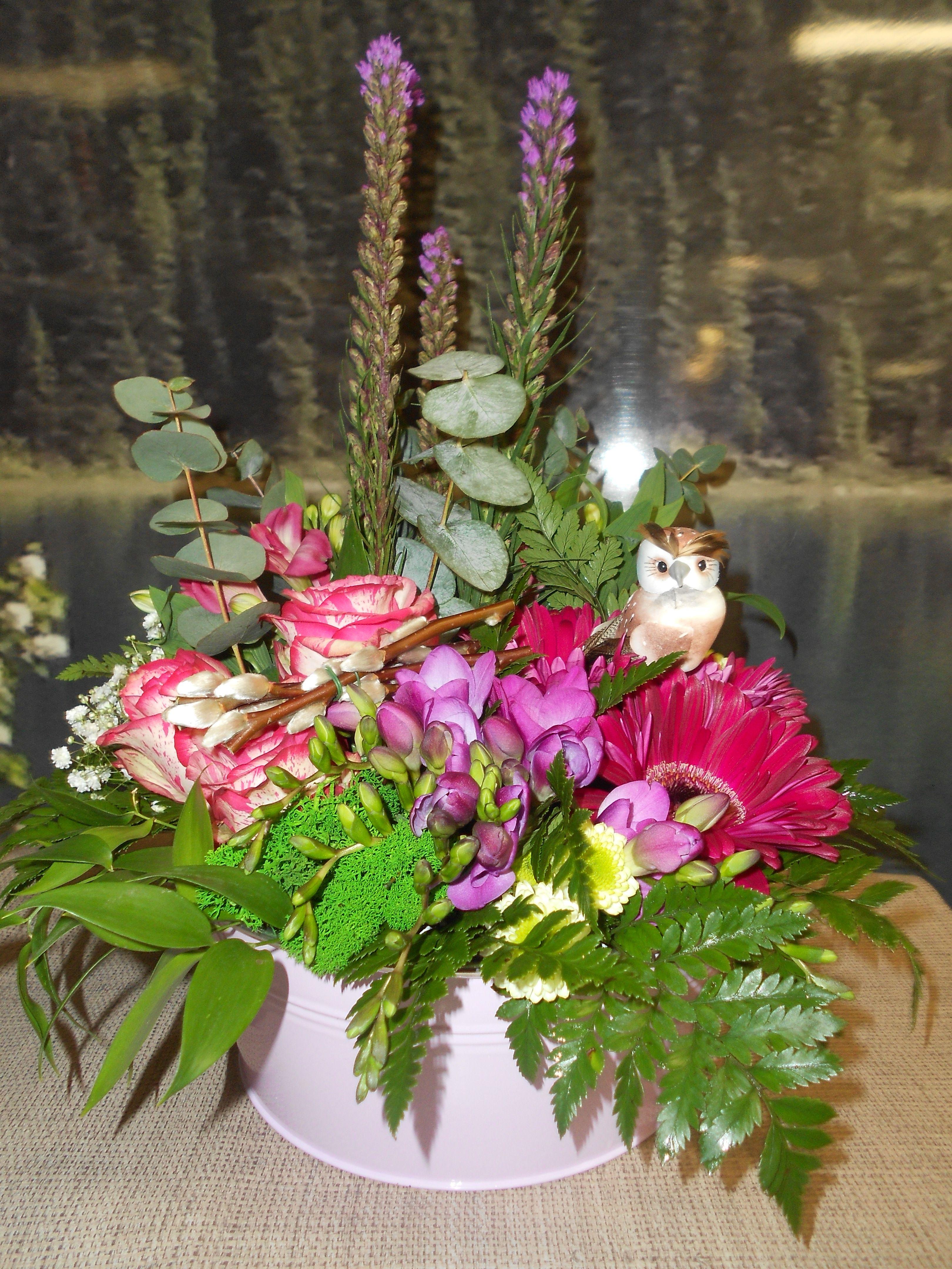Garden Bowl Arrangement